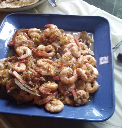 New Orleans Style BBQ Shrimp (Peeled)