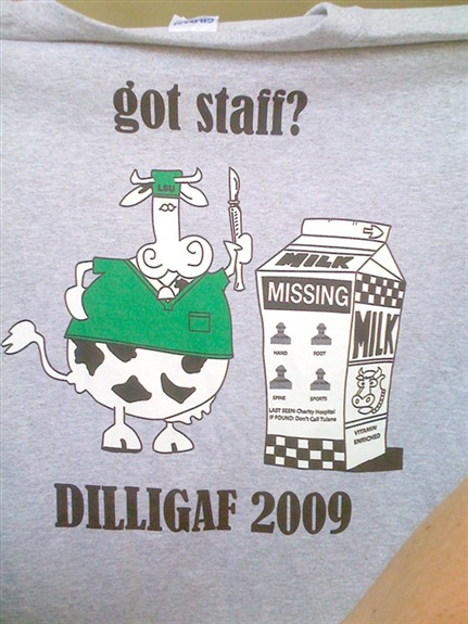 DILLIGAG, Got Staff
