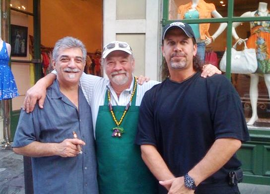 Chef Ricky LoRusso, Emile and Videographer Keith Francis