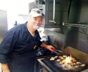 Chef Emile and Chargrilled Oysters
