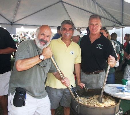Joe Cahn, Chef Ricky LoRusso, and Paul Preau
