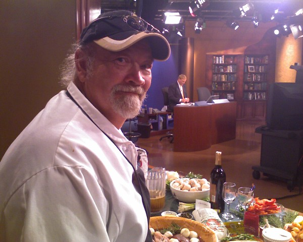 Chef Emile on WWL TV