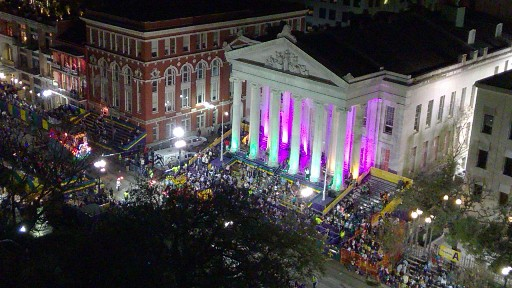 Gallier Hall Muse's Parade