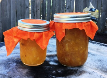Orange Marmalade Jars.... Ready for Presents!!