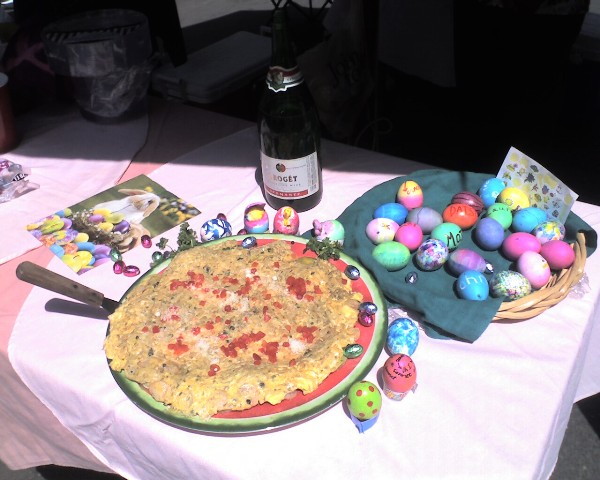 Our Easter Frittata