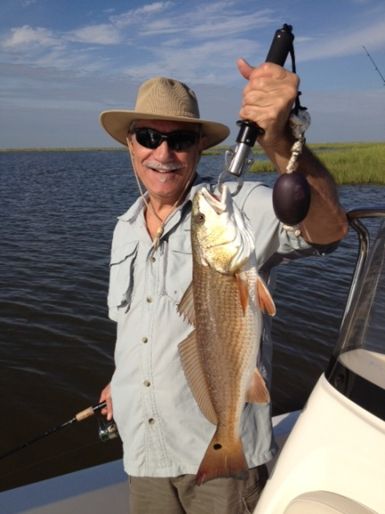 Chef Ricky and his redfish!