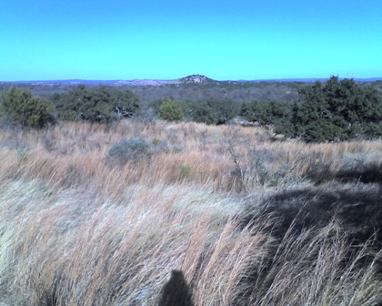 Dutch Mountain from Enchanted Rock Loop Trail