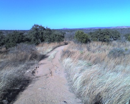 Watch Mountain from Enchanted Rock Loop Trail