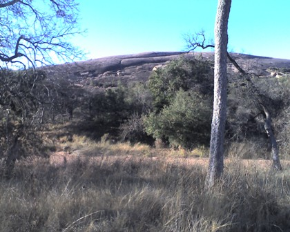 Enchanted Rock from Sandy Creek