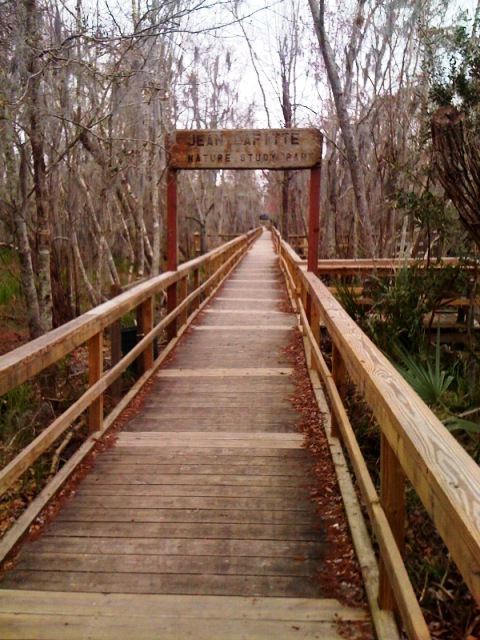 Jean Lafitte Nature Study Park Trailhead