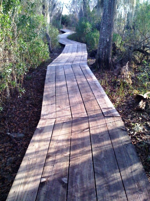 Kenta Canal Trail Decking