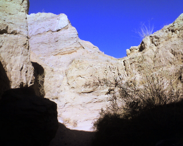 Slot Caynon, Painted Canyon, Ladder Trail Hike, Mecca Hills