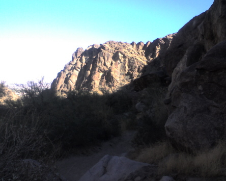 Tahquitz Canyon looking north east